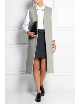sleeveless-wool-blend-coat by topshop-unique