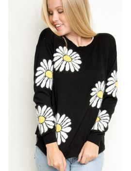 alicia-daisies-knit by brandy-melville