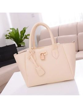 new-korean-fashion-lady-pu-leather-messenger-handbag-shoulder-bag-totes-purse by gl
