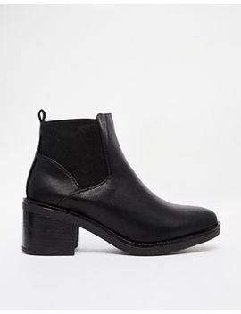 new-look---elmo---bottines-chelsea-à-talon-carré---noir by new-look