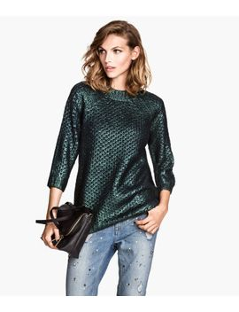 pattern-knit-sweater by h&m