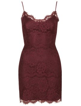 lace-bodycon-tunic by topshop