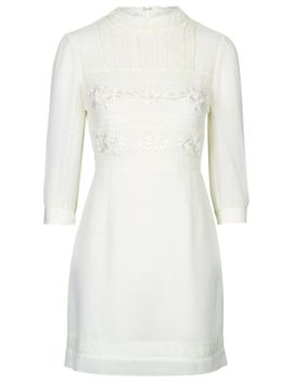 victoriana-lace-dress by topshop