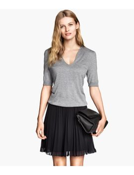 pleated-skirt by h&m