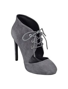 nicolette-black-lace-up-booties---sold-out by nine-west