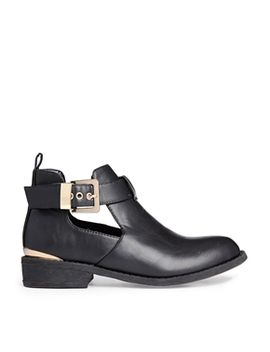 black-jennie-cut-out-ankle-boots by river-island