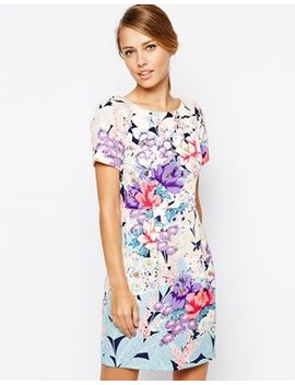 oasis-placement-textured-lantern-dress by oasis