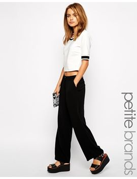 new-look-petite-crepe-tailored-wide-leg-pant by new-look-petite