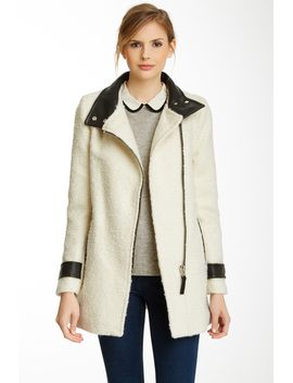 kitty-wool-blend-leather-accent-coat by mackage