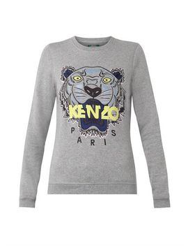 tiger-embroidered-sweatshirt-(204863) by kenzo