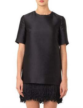 aude-fringe-hem-dress-(201537) by stella-mccartney