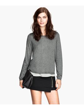 feinstrick-pullover by h&m