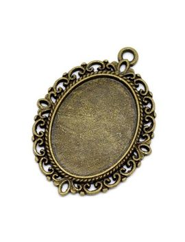 20-bronze-tone-oval-cabochon-cameo-settings-pendants-39x29mm-(fit-25x18mm) by ali-express