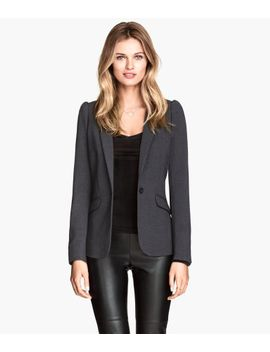 jacket-with-puff-sleeves by h&m