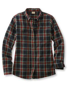 scotch-plaid-shirt,-relaxed by llbean