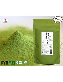ryu-mei-japanese-organic-matcha-green-tea-powder,-kyoto-standard,-35-oz-(pack-of-2) by horarary