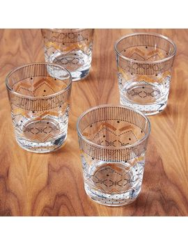 festive-fair-isle-glassware-(set-of-4) by west-elm