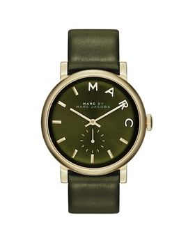 baker-leather-strap-watch,-37mm by marc-jacobs