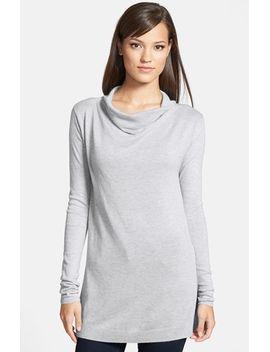 drape-neck-sweater by trouvÉ