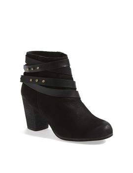 train-wrap-belted-bootie by bp