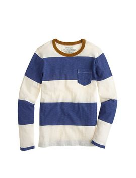 boys-ringer-pocket-t-shirt-in-rugby-stripe by jcrew