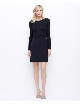 ribbed-day-dress by ann-taylor