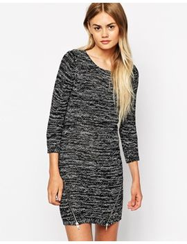 only-spacedye-zip-front-jumper-dress by only