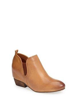 felix-leather-bootie by naya