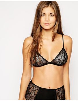 asos-rosa-lace-triangle-bra by asos-collection