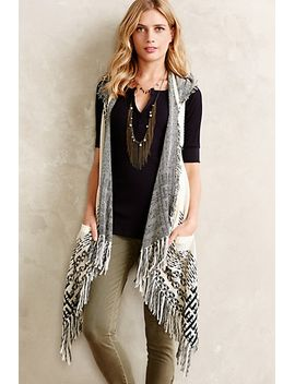 hooded-jacquard-vest by anthropologie