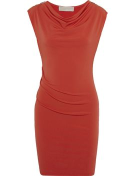 the-outnetembellished-ruched-stretch-jersey-mini-dress by michael-michael-kors