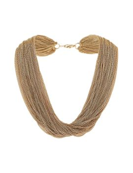 multi-row-chain-necklace by topshop