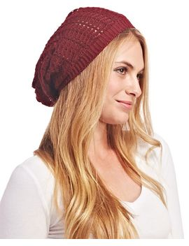 open-knit-slouchy-beanie by wet-seal