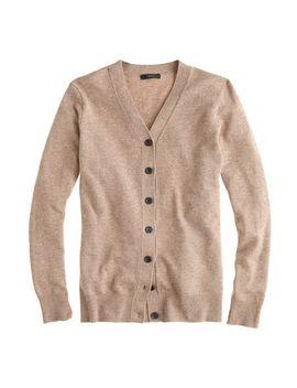 v-neck-cardigan-sweater by jcrew