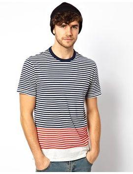 t-shirt-two-colour-stripe by levis