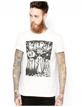 t-shirt-rick-griffin-kilroy-print by levis