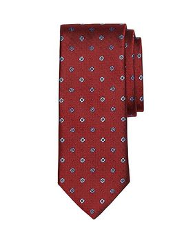 parquet-floral-and-dot-tie by brooks-brothers