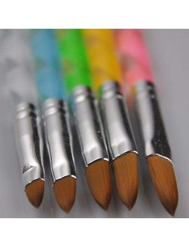 hot-5-x-pcs-acrylic-design-painting-drawing-brush-pen-tool-nail-art-set by unbranded