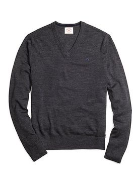 merino-wool-v-neck-sweater by brooks-brothers