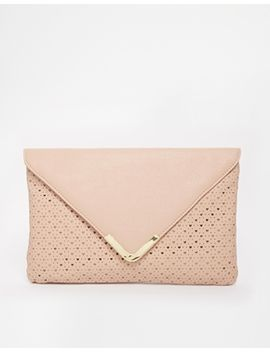 asos-laser-cut-heart-clutch-bag by asos-collection