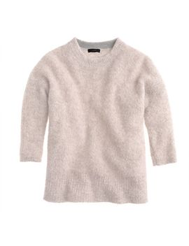 textured-slouchy-sweater by jcrew