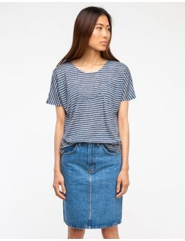 basia-tee-deepest-blue-stripe by need-supply-co