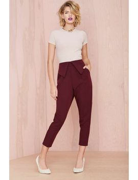 nasty-gal-fold-ya-so-trouser by nasty-gal