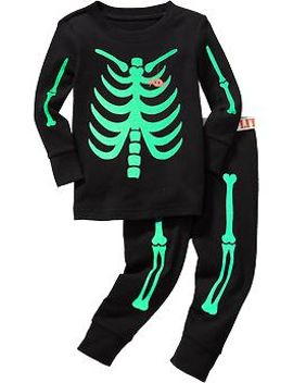 skeleton-graphic-pj-sets-for-baby by old-navy