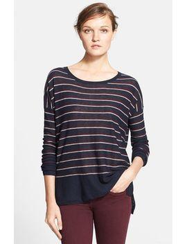stripe-wool-blend-sweater by vince