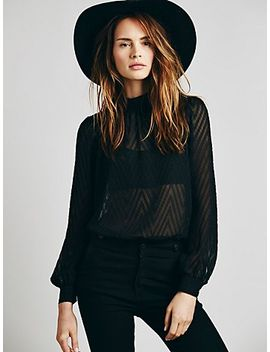 tucking-chevron-blouse by free-people