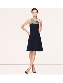 sleeveless-colorblock-dress by loft