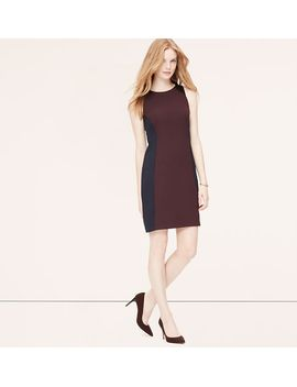 seamed-sheath-dress by loft