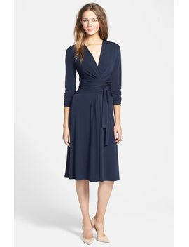 faux-wrap-jersey-dress by michael-michael-kors