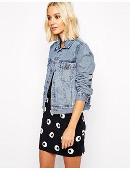 denim-jacket by cheap-monday
